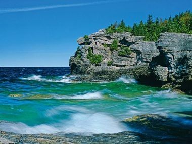 Ontario: Indian Head Cove in Bruce Peninsula National Park
