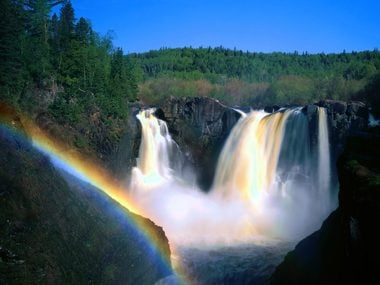 Minnesota: High Falls of the Pigeon River