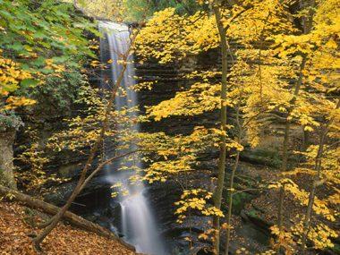 Matthiessen Falls