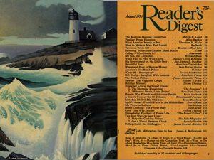 Reader's Digest, August 1976