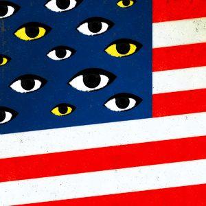 9/11 flag eyes