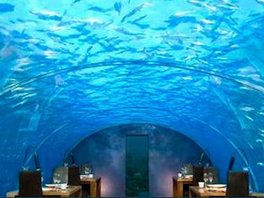 Ithaa Undersea Restaurant - Rangali Island, Maldives