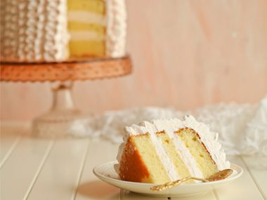 Whip up a yellow cake.