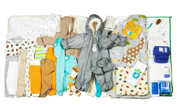 Baby box items