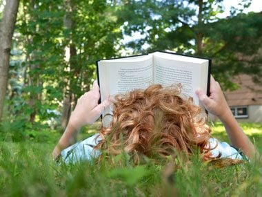 Reading boosts your vocabulary.