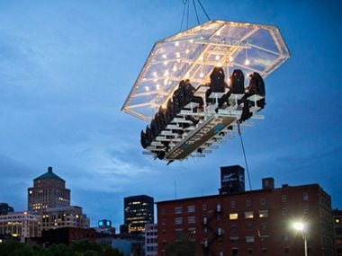 Dinner in the Sky - Montreal, Canada