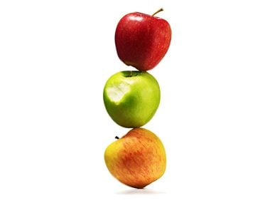 Health Risk: Apples contain pesticides.