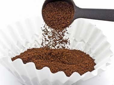 Use eggshells in coffee.