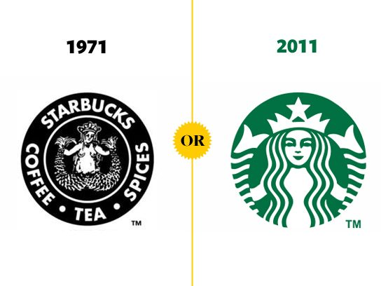 what company logos looked like when they were young