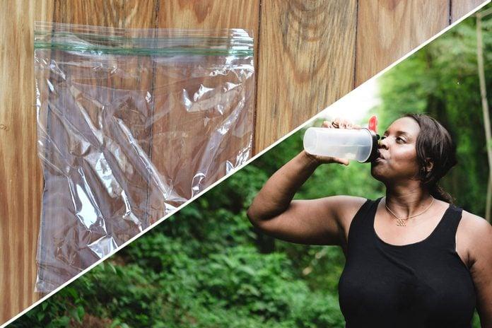 plastic bag uses life hacks