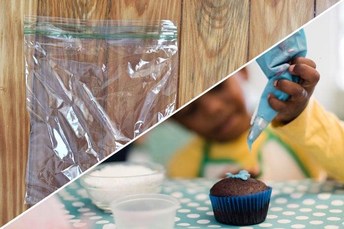 decorate cake plastic bag uses