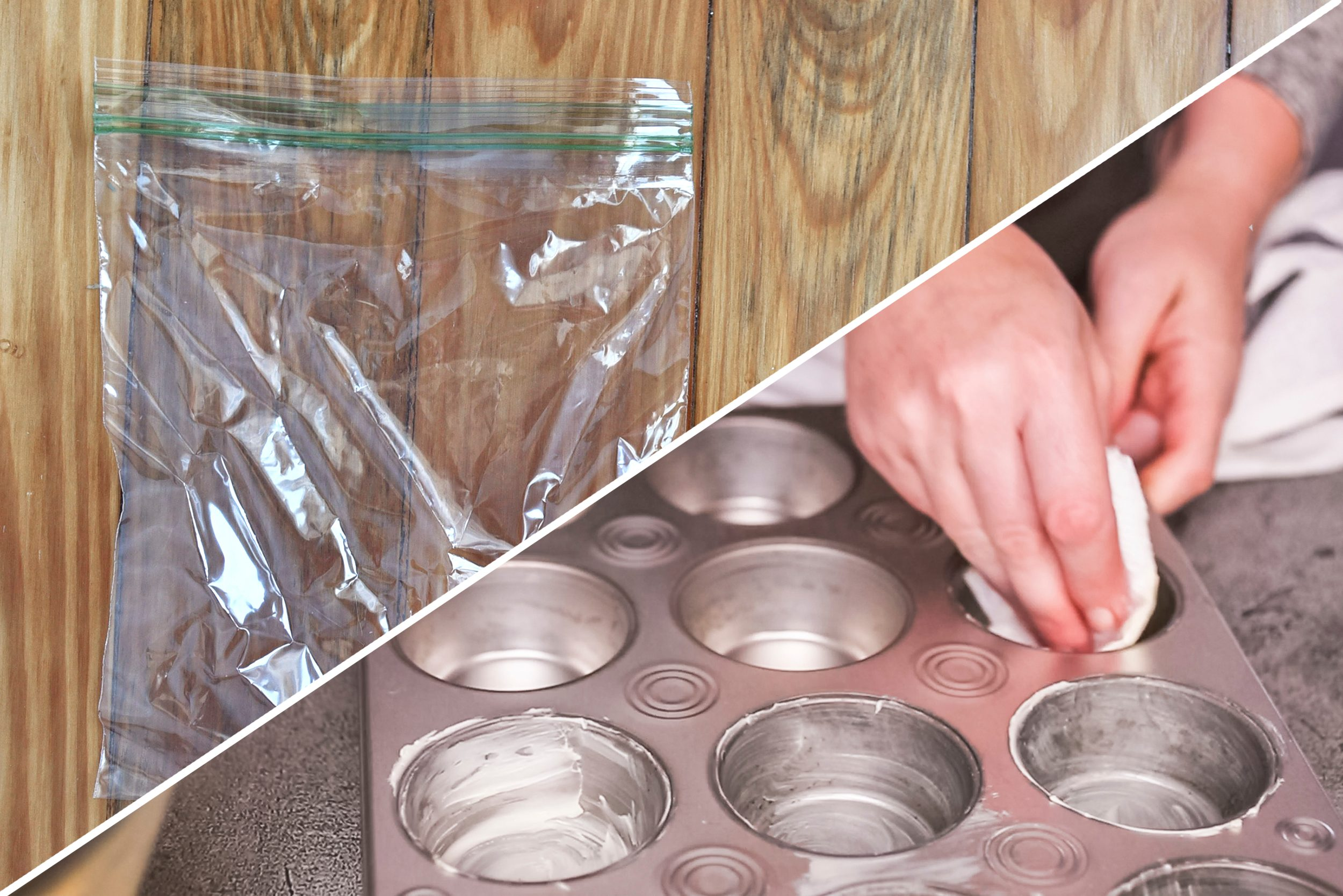 grease pan plastic bag uses life hacks