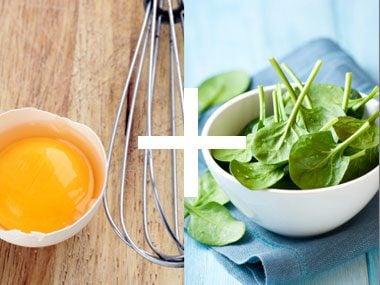 Perfect Pair: Eggs + Spinach
