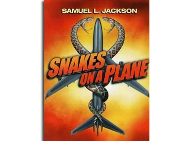 Snakes on a Plane's working title was...