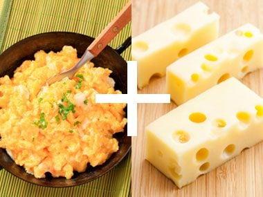Perfect Pair: Eggs + Cheese