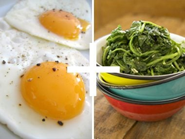 Tosca Reno: Eggs and Greens