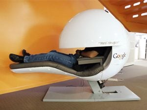 google office sleeping