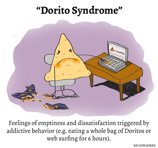 Dorito Syndrome