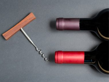 wine bottles corkscrew