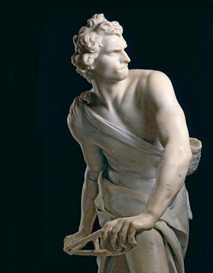 Statue of David by Gian Lorenzo Bernini