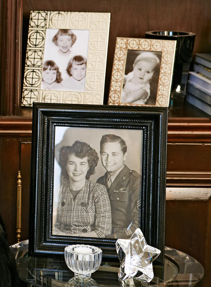 Robin McGraw's family photos