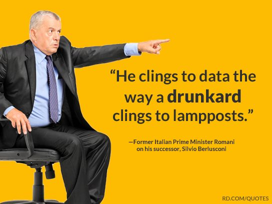 political insults cling to data