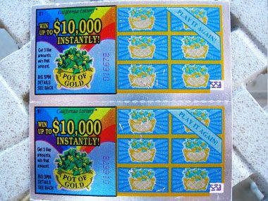 Lotologists collect lottery tickets!
