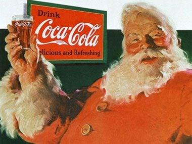 Santa Claus Coca-Cola Ad
