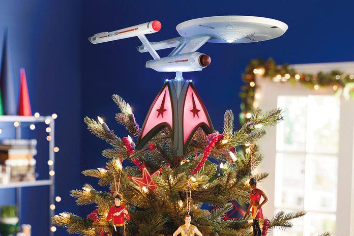 Star Trek christmas tree topper