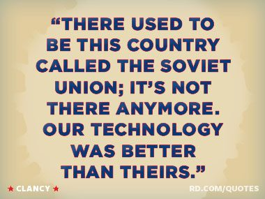"""Our technology was better than theirs."""