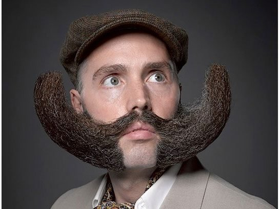 Facial Hair Styles Pictures: Funny Facial Hair Styles: How To Rock Them