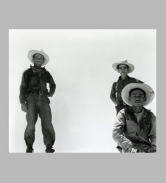 <i>Off for the Melon Fields (Mexican Labor)</i>. Imperial Valley, California, 1935