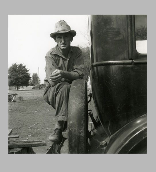Farmersville, California, c. 1938
