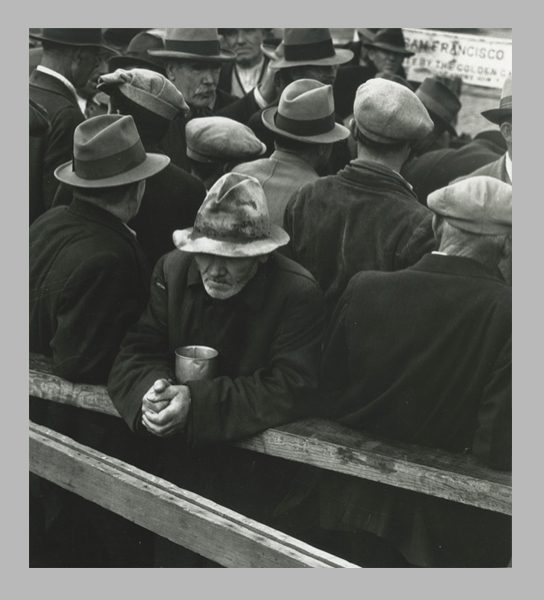 <i>White Angel Breadline</i>. San Francisco, California, 1933