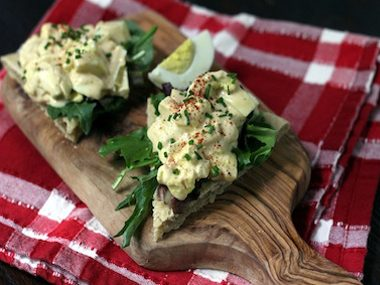 Egg Salad Bites
