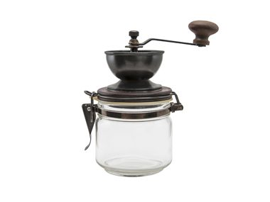Use a coffee grinder to pulverize herbs.
