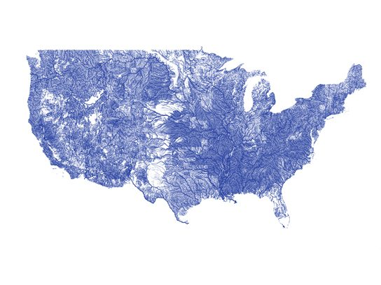 ... all the rivers in the United States.