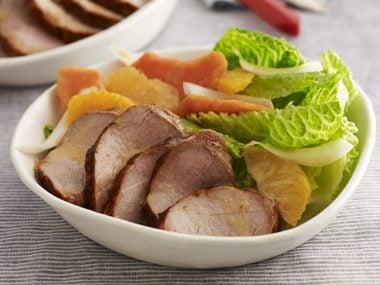 Pork Satay Salad