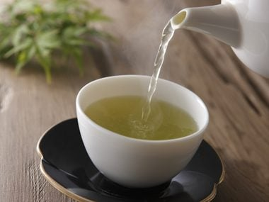a cup of green tea can help arthritis pain