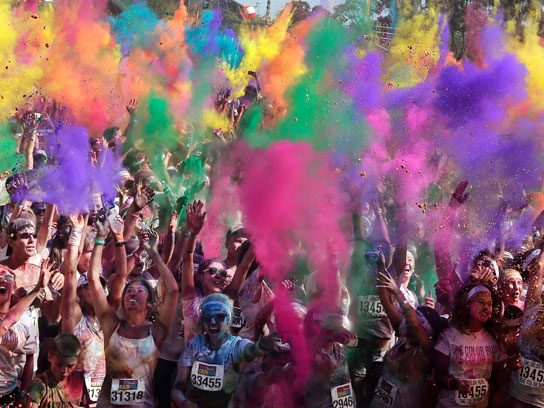 "... the ""Color Run"""