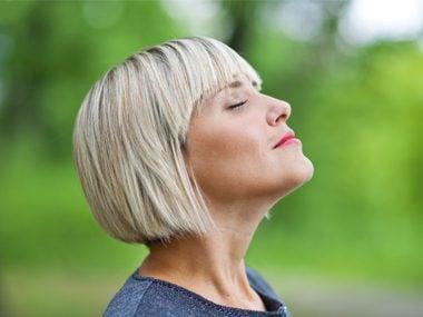 Practice deep breathing exercises.