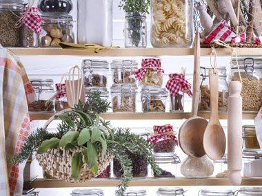 food in pantry