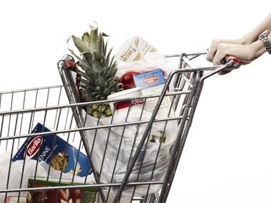 It's no accident that shopping carts are getting bigger.
