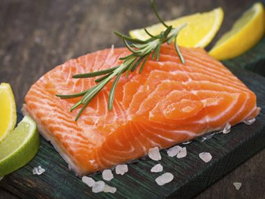 salmon is high in omega 3 for arthritis pain relief