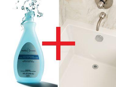 Eliminate bathtub ring