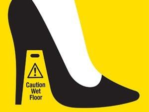 high heel illustration