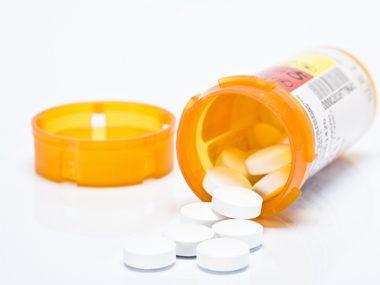 bottle of antiobiotics