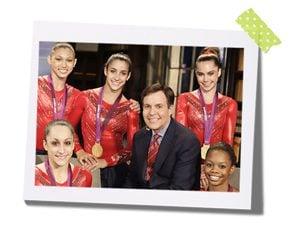 bob costas olympic gymnasts