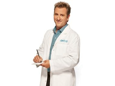 doctor holding pad