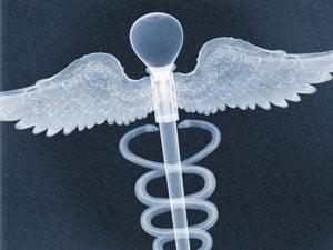 medical symbol x ray